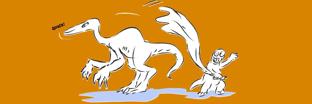 Deinocheirus unveiled by helper dino