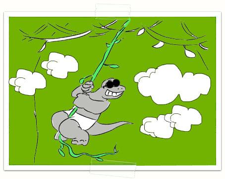 Traveler-lizard-Bob-in-Cloud-Forest