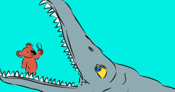 Kronosaurus cartoon