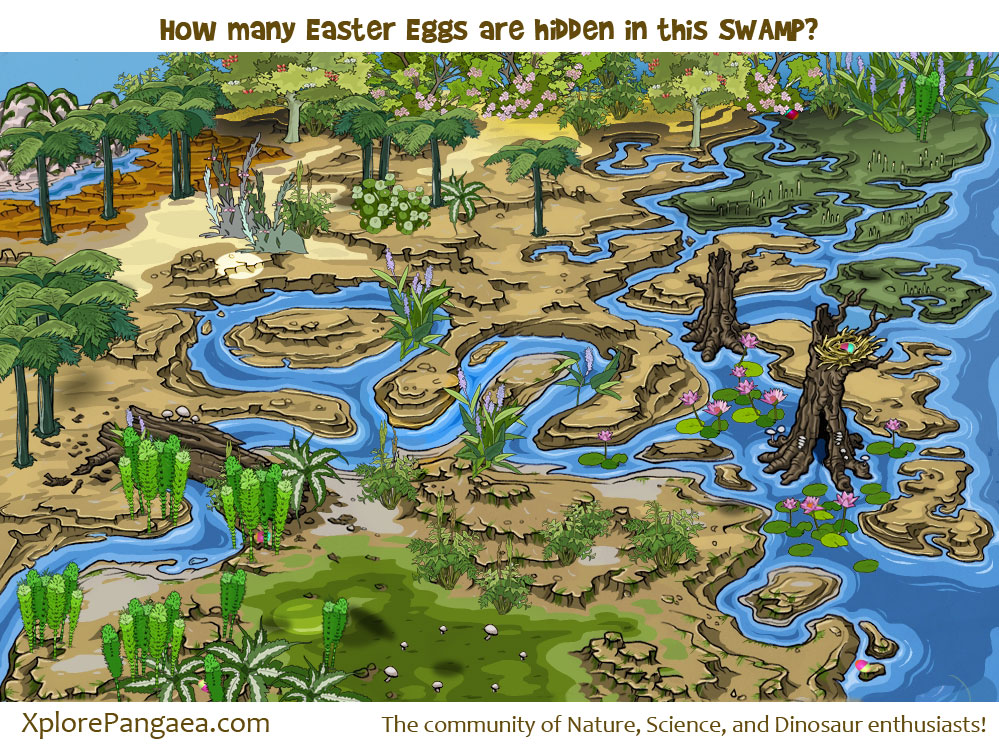 How-many-Easter-eggs-in-the-swamp